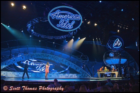 The American Idol Experience stage at Disney's Hollywood Studios, Magic Kingdom, Walt Disney World, Orlando, Florida.