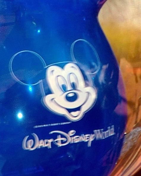 Blurring of Mickey Mouse balloon in the Magic Kingdom, Walt Disney World, Orlando, Florida