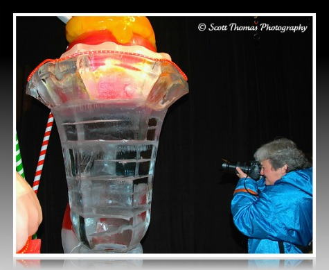 Picture This! Photoblogger Barrie at the ICE show in the Gaylord Palms Resort, Orlando, Florida