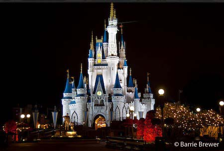 Cinderella Castle, photo by Barrie Brewer