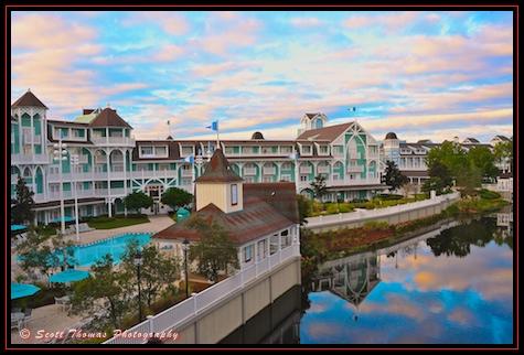 View From A Beach Club Villa Dvc Room Walt Disney World Orlando Florida