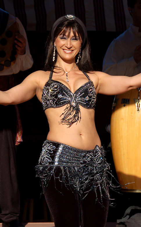 Belly Dancer in Epcot's Morocco