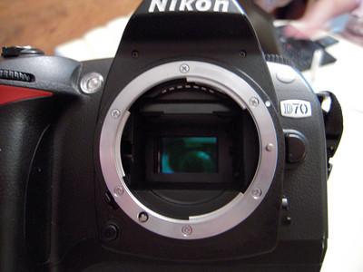 Nikon D70 Camera Sensor