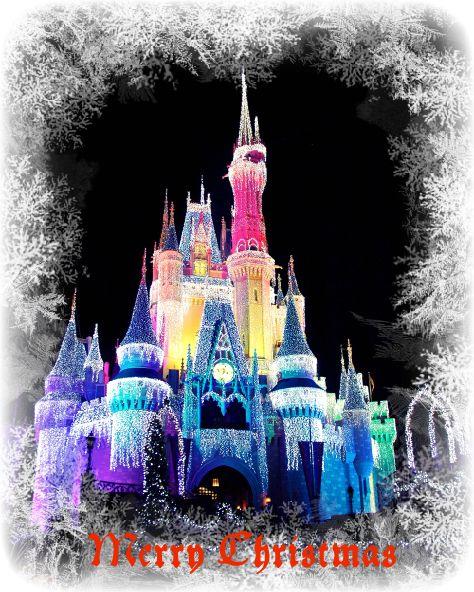 Cinderella Castle Christmas Lights.Christmas Wish 2009 Allears Net