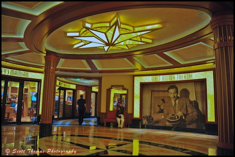 The Walt Disney Theatre on the Disney Dream cruise ship.