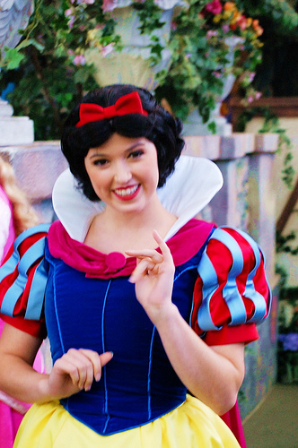 Snow White by Disney Grandpa. © Ron Vertrees. All Rights Reserved, Disneyland, Anaheim, California