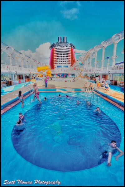 Deck 11 of the Disney Dream has the Mickey Mouse and Donald Duck pools.