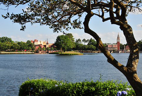 World Showcase Framed