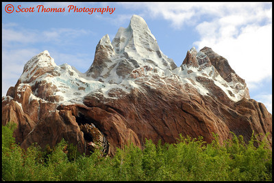 Click for larger version of Expedition EVEREST in Disney's Animal Kingdom, Walt Disney World, Orlando, Florida