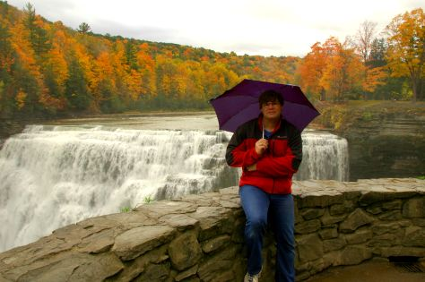 Remote Control portrait in Letchworth State Park, New York.