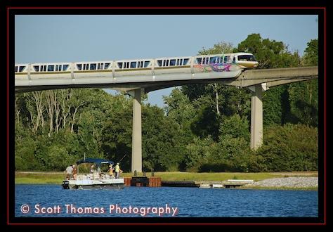 Fishing on Bay Lake, Walt Disney World, Orlando, Florida