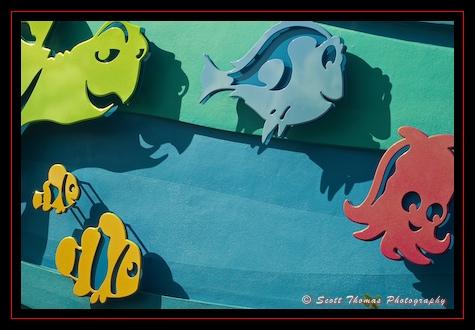Follow Nemo and friends to the Seas in Epcot's Future World, Walt Disney World, Orlando, Florida