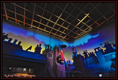 Mary Poppins in the Great Movie Ride