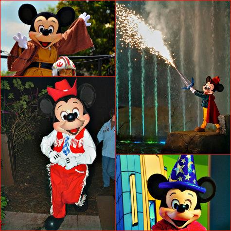 Mickey Mouse at the Walt Disney World Resort, Orlando, Florida