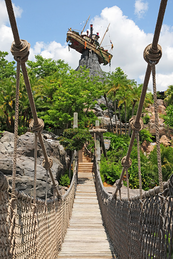 Mount Mayday at Typhoon Lagoon