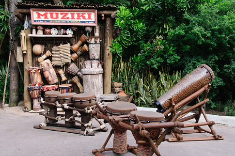 Muziki Stand in Disney's Animal Kingdom