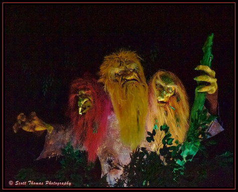 Trolls at the Maelstrom in Epcot's Norway