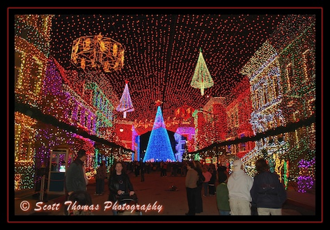 The Osborne Lights at Disney's Hollywood Studios, Walt Disney World, Orlando, Florida