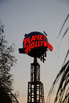Planet Hollywood restaurant sign in Downtown Disney, Walt Disney World, Orlando, Florida