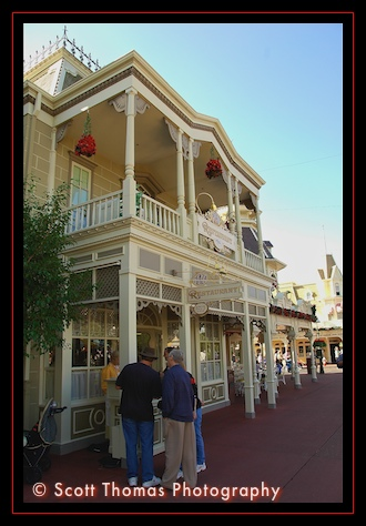 The Plaza Restaurant on Main Street USA in the Magic Kingdom, Walt Disney World, Orlando, Florida
