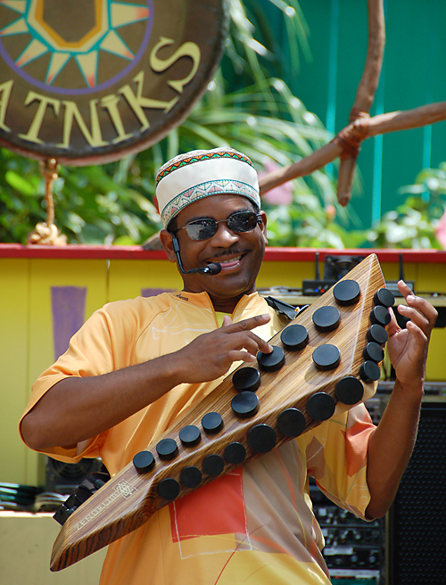 A Village Beatnik at Disney's Animal Kingdom