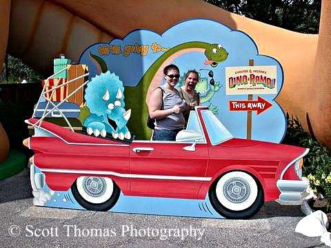 Dino-Rama Prop in DinoLand USA, Disney's Animal Kingdom, Walt Disney World, Orlando, Florida