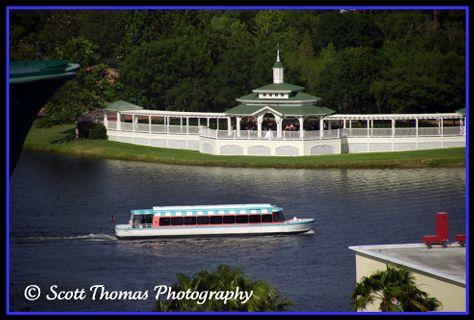 Sea Breeze Point near Disney's Boardwalk Resort, Walt Disney World, Orlando, Florida.