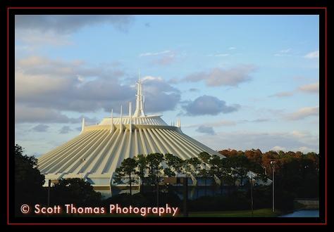 Space Mountain in the Magic Kingdom, Walt Disney World, Orlando, Florida