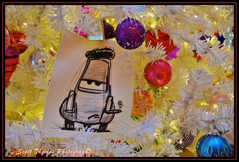 Disney's Art of Animation Resort lobby Christmas tree, Walt Disney World, Orlando, Florida