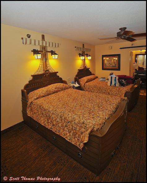 Pirate Room in the Caribbean Beach Resort, Walt Disney World, Orlando, Florida