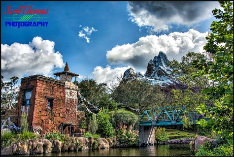 AExpedition: Everest in Asia at Disney's Animal Kingdom, Walt Disney World, Orlando, Florida