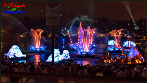 Rivers of Light show at Disney's Animal Kingdom, Walt Disney World, Orlando, Florida