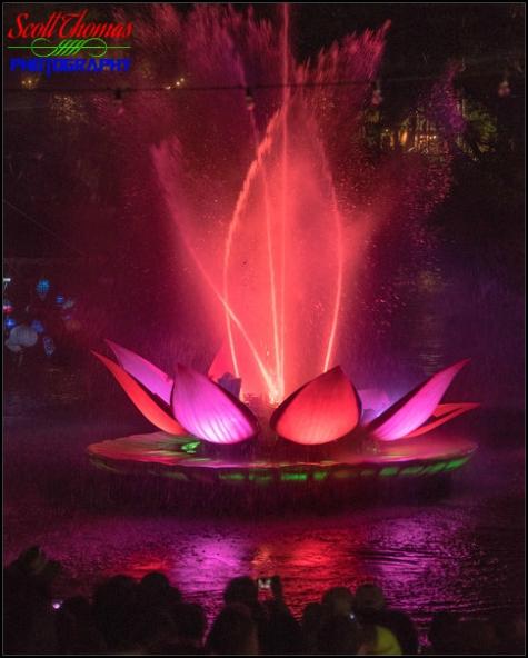 Rivers of Light show at Disney's Animal Kingdom, Walt Disney World, Orlando, Florida