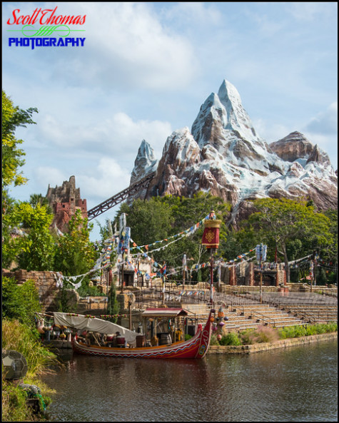 Expedition EVEREST in Disney's Animal Kingdom, Walt Disney World, Orlando, Florida
