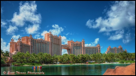 The Atlantis resort on Paradise Island, Nassau, Bahamas