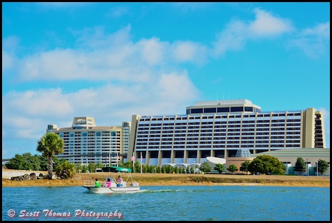 Contemporary Resort on the Seven Seas Lagoon, Walt Disney World, Orlando, Florida
