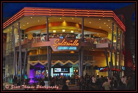 Splitsville in Downtown Disney Westside, Walt Disney World, Orlando, Florida