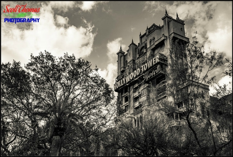 Twlight Zone Tower of Terror in Disney's Hollywood Studios, Walt Disney World, Orlando, Florida