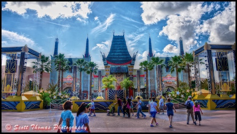 HDR image of The Great Movie Ride at Disney's Hollywood Studios, Walt Disney World, Orlando, Florida