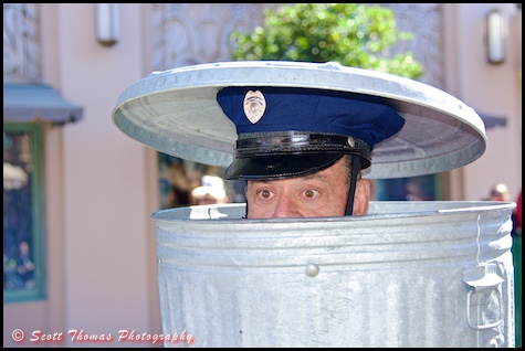 Officer Percival Peabody is undercover at Disney's Hollywood Studios, Walt Disney World, Orlando, Florida
