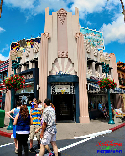 The Nikon Photography Store on Hollywood Blvd. in Disney's Hollywood Studios, Walt Disney World, Orlando, Florida