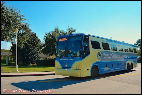 Walt Disney World Special Bus Services Picture This
