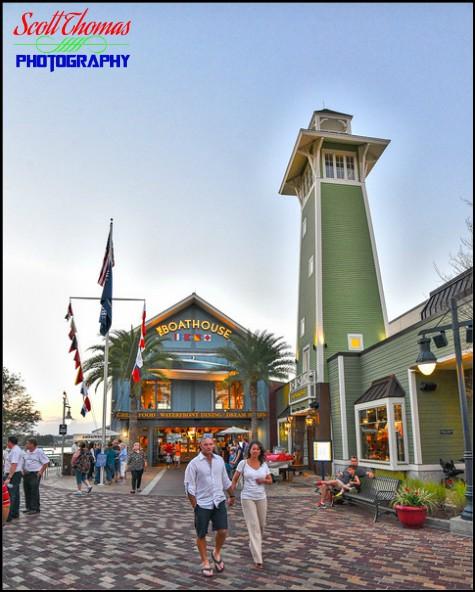 The Boathouse restaurant at Disney Springs, Walt Disney World, Orlando, Florida