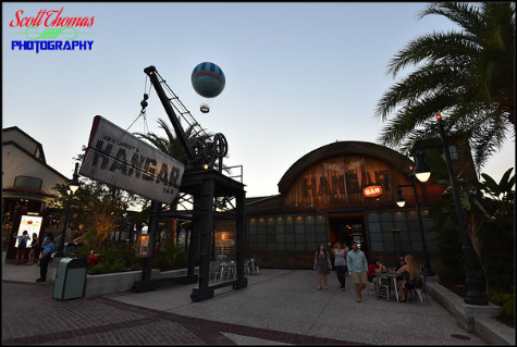 Jock Lindsey's Hangar Bar in Disney Springs, Walt Disney World, Orlando, Florida