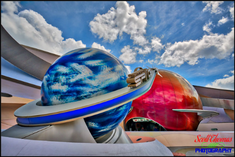 Mission: SPACE pavilion in Epcot's Future World, Walt Disney World, Orlando, Florida