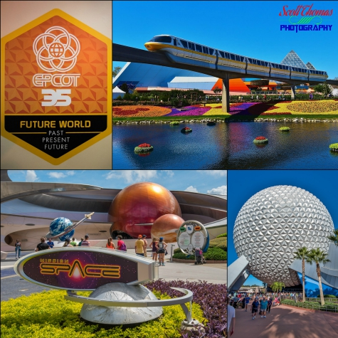 EPCOT in 2017, Walt Disney World, Orlando, Florida