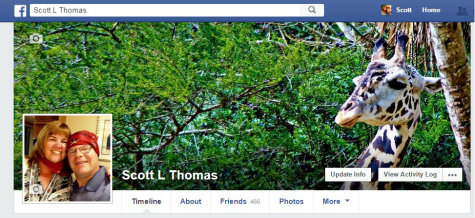 FaceBook cover photo.