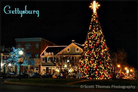 Gettysburg Christmas Tree Lighting 2021 Christmas Light Photography Allears Net