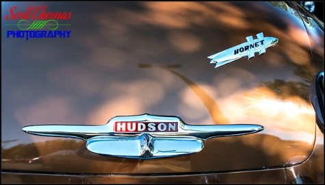 Trunk of a 1951 Hudson Hornet photographed near Syracuse, New York
