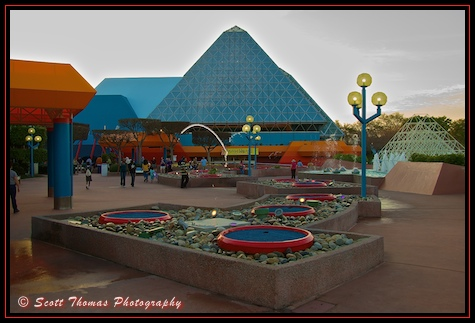 Imagination pavilion in Epcot's Future World, Walt Disney World, Orlando, Florida